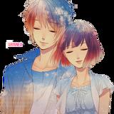 anime couple render by arinnea d6vbrsu.png