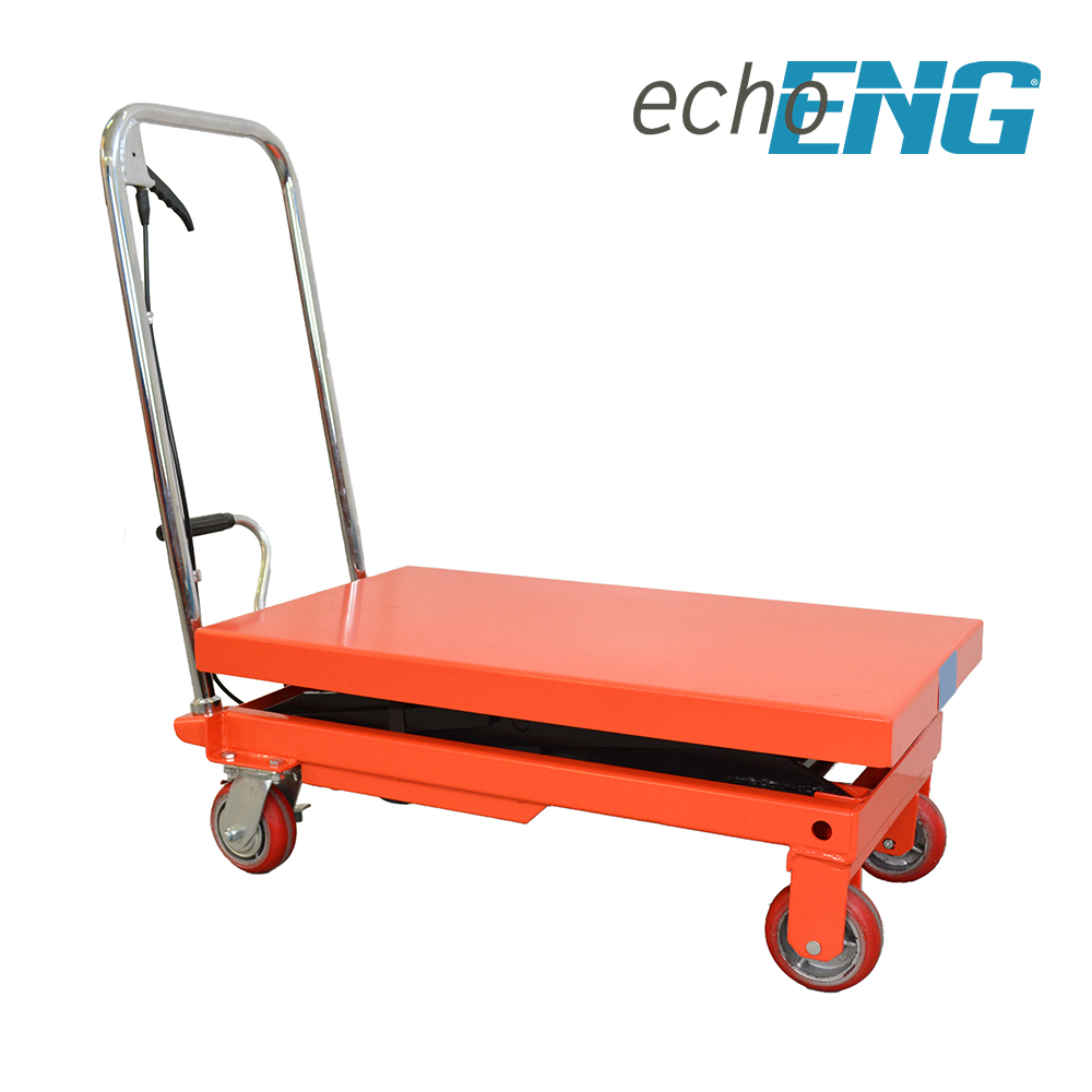 Carrello a pantografo piattaforma sollevatore 500kg con ruote MA SL CP50 echoENG