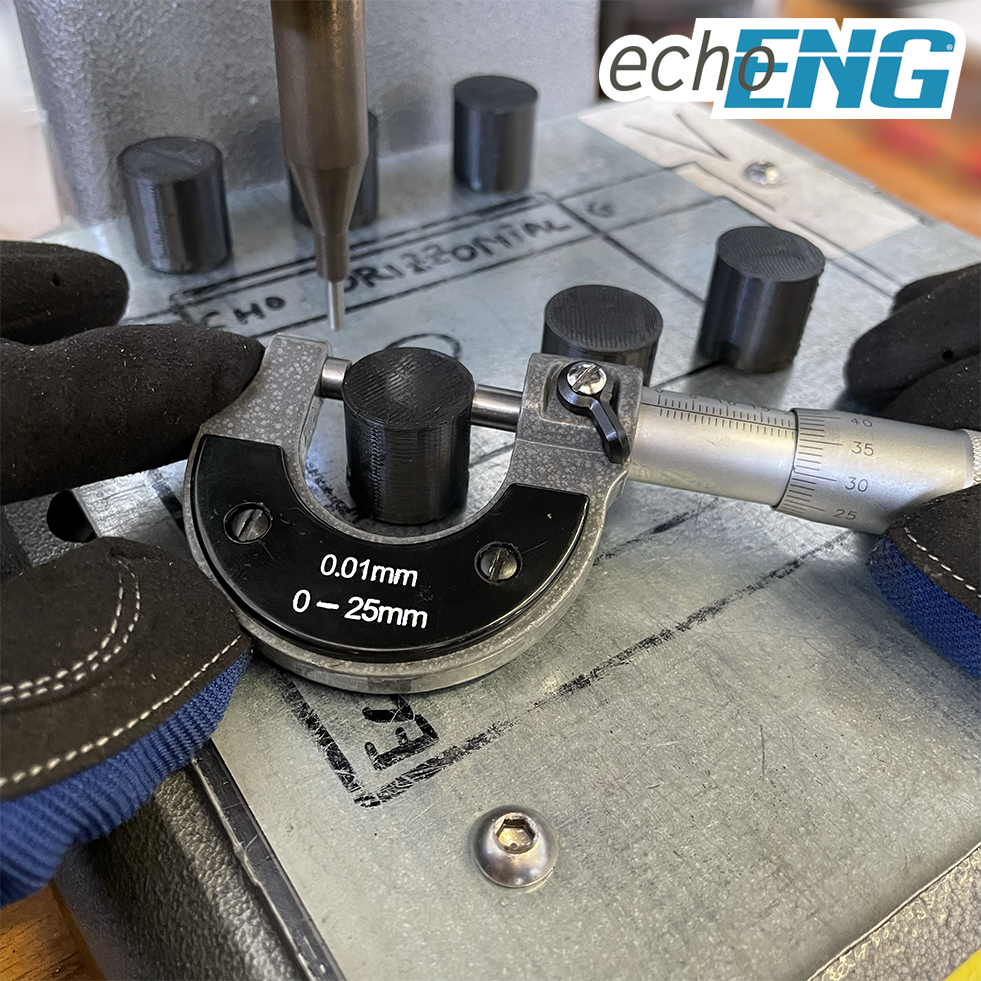 Micrometro per esterno 0-25mm - echoENG - SM 20 MCR0