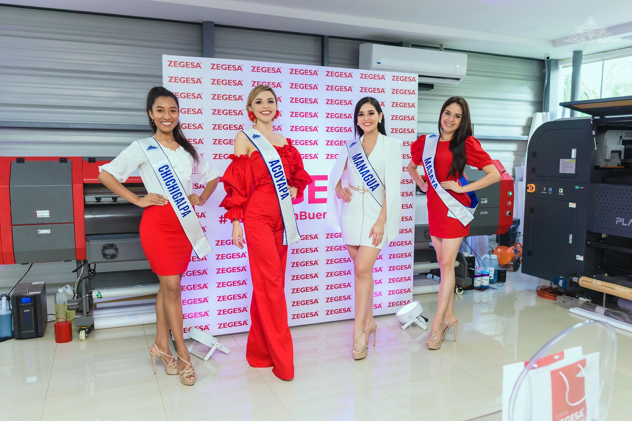 candidatas a miss nicaragua 2021. final: 14 de agosto. RuLMpS