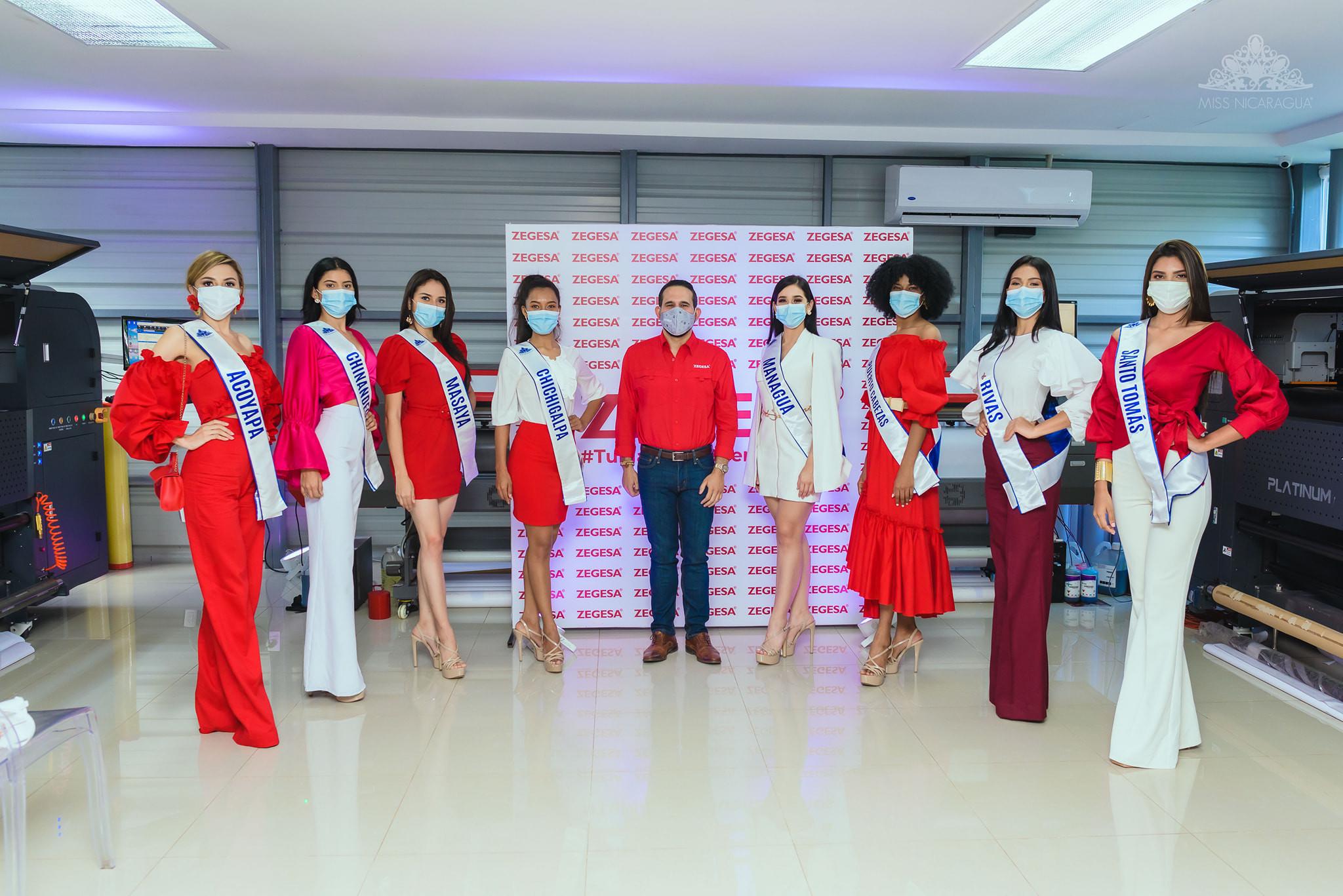 candidatas a miss nicaragua 2021. final: 14 de agosto. RuLorv