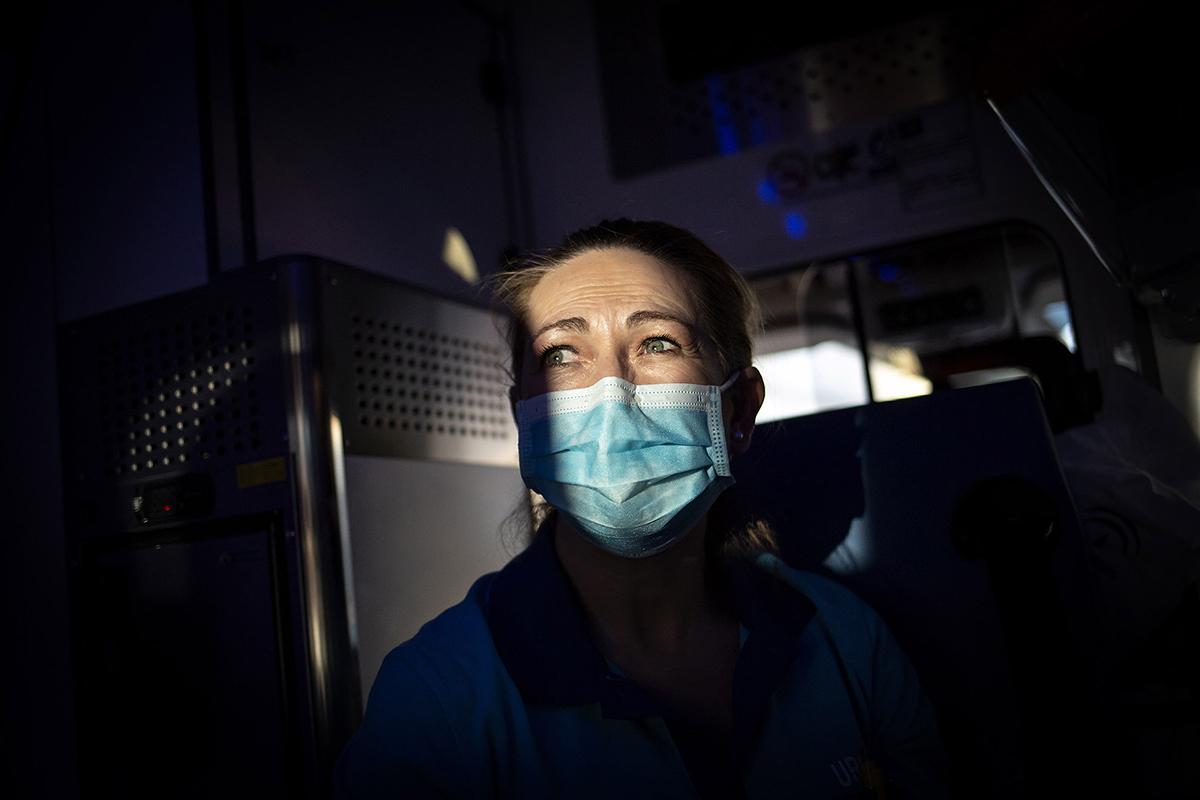 Belén, enfermera en el Centro de Salud del municipio de Huéscar (Granada)
