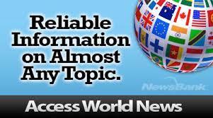 Newsbank: Access World News