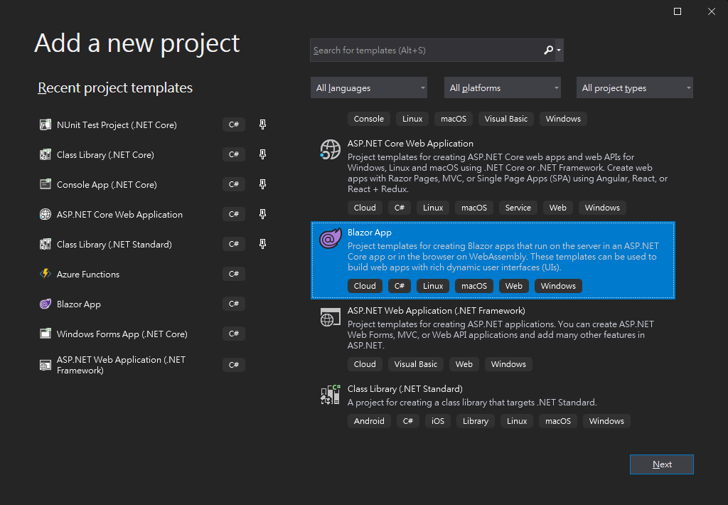 """img """"Add a new Project"""""""