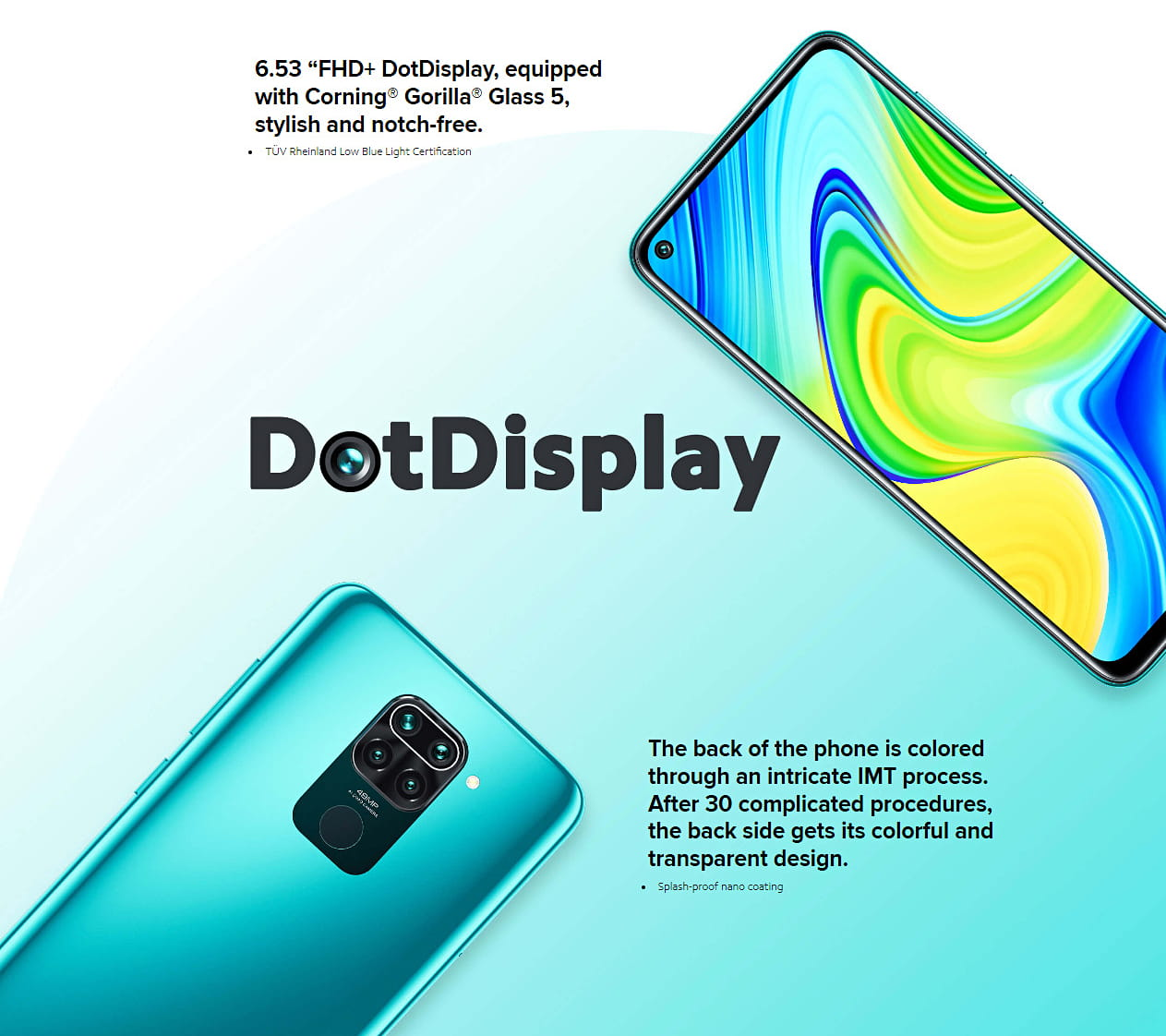 Redmi Note 9 Display