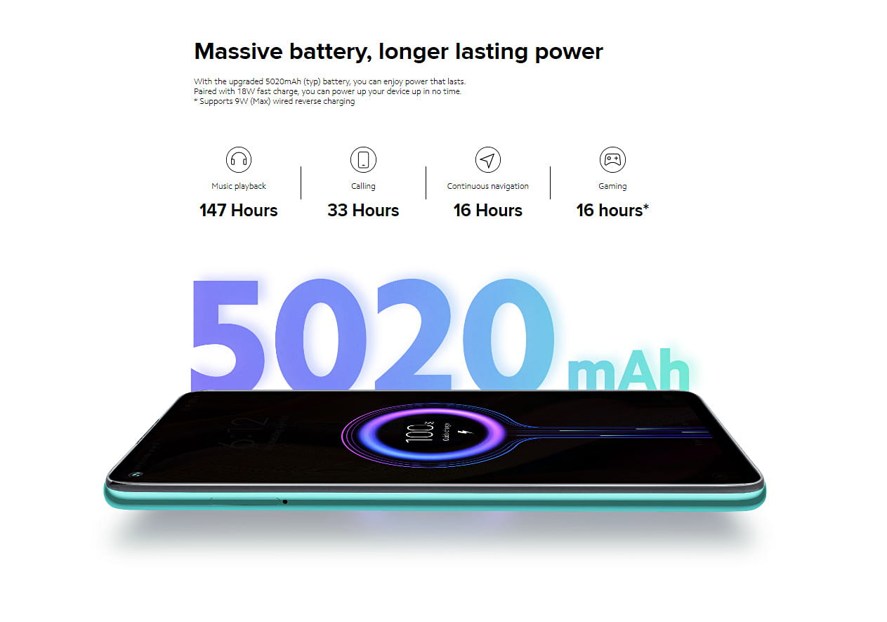 Redmi Note 9 Massive Battery