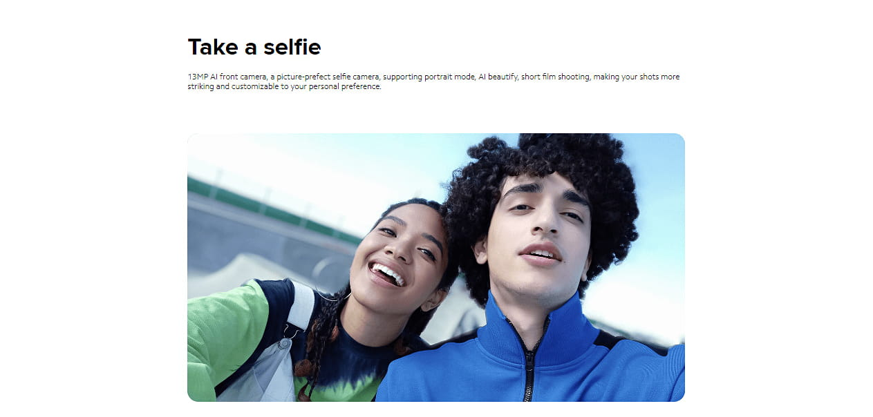 Redmi Note 9 Selfie