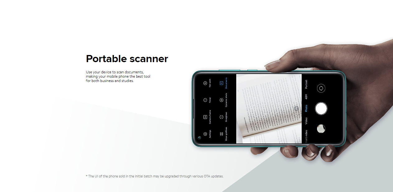 Redmi Note 9 Document Scanner