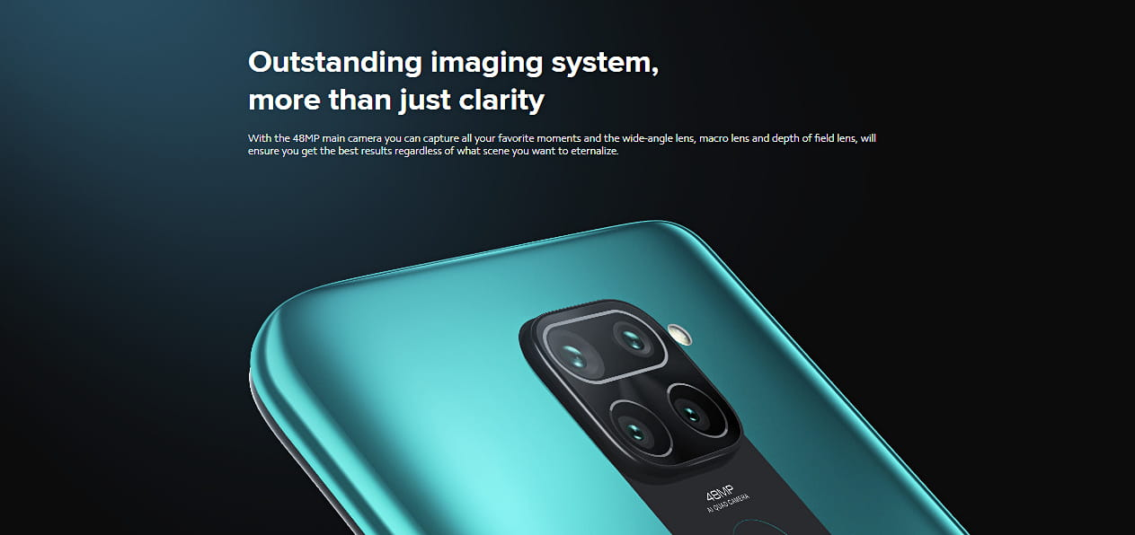 Redmi Note 9 Outstanding imaging system