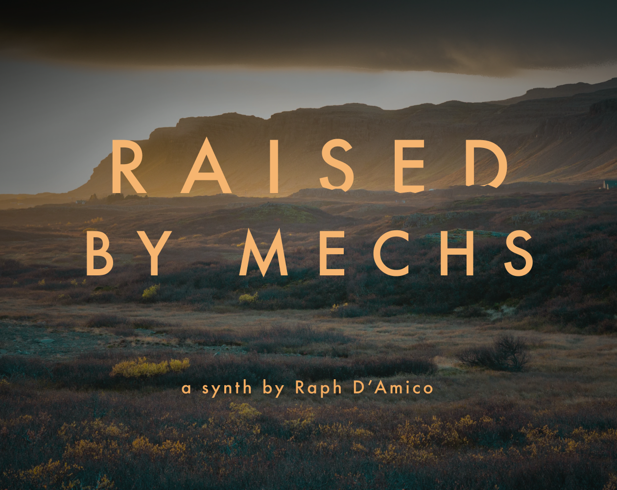 Raised By Mechs cover
