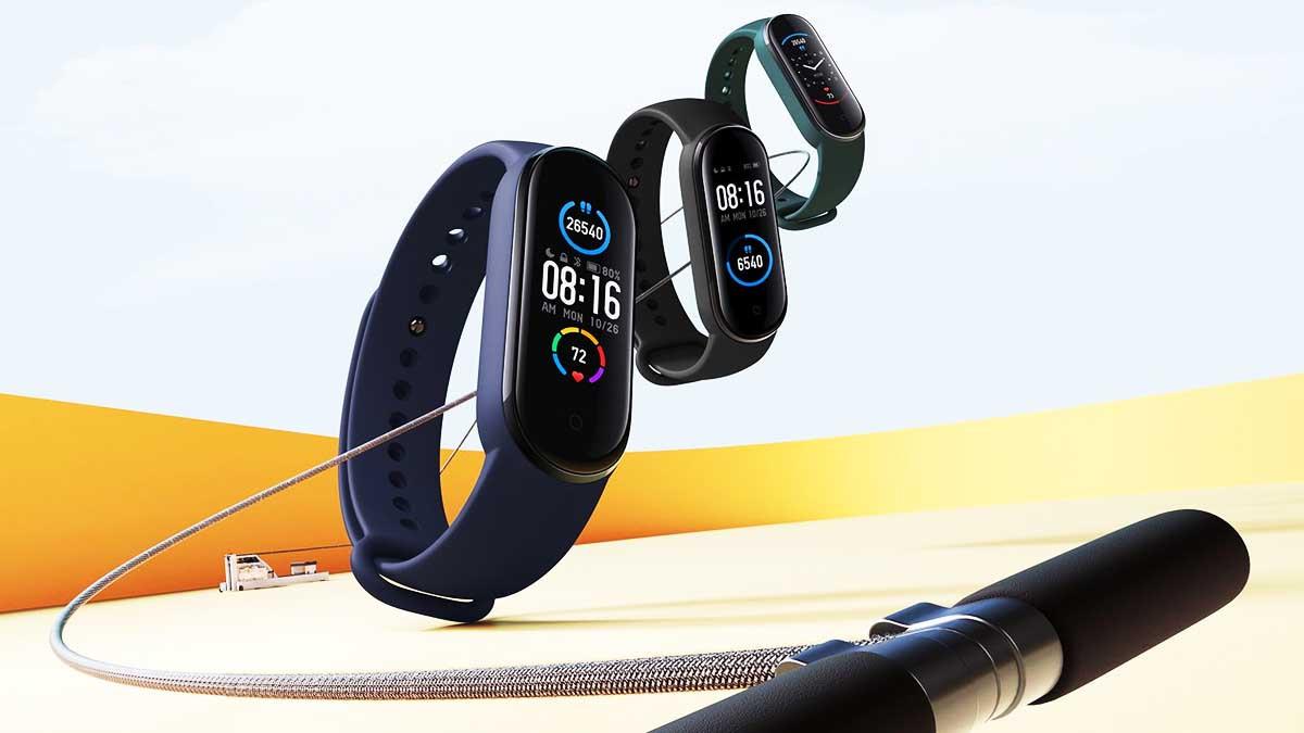 smartwatch xiaomi mi smart band 5