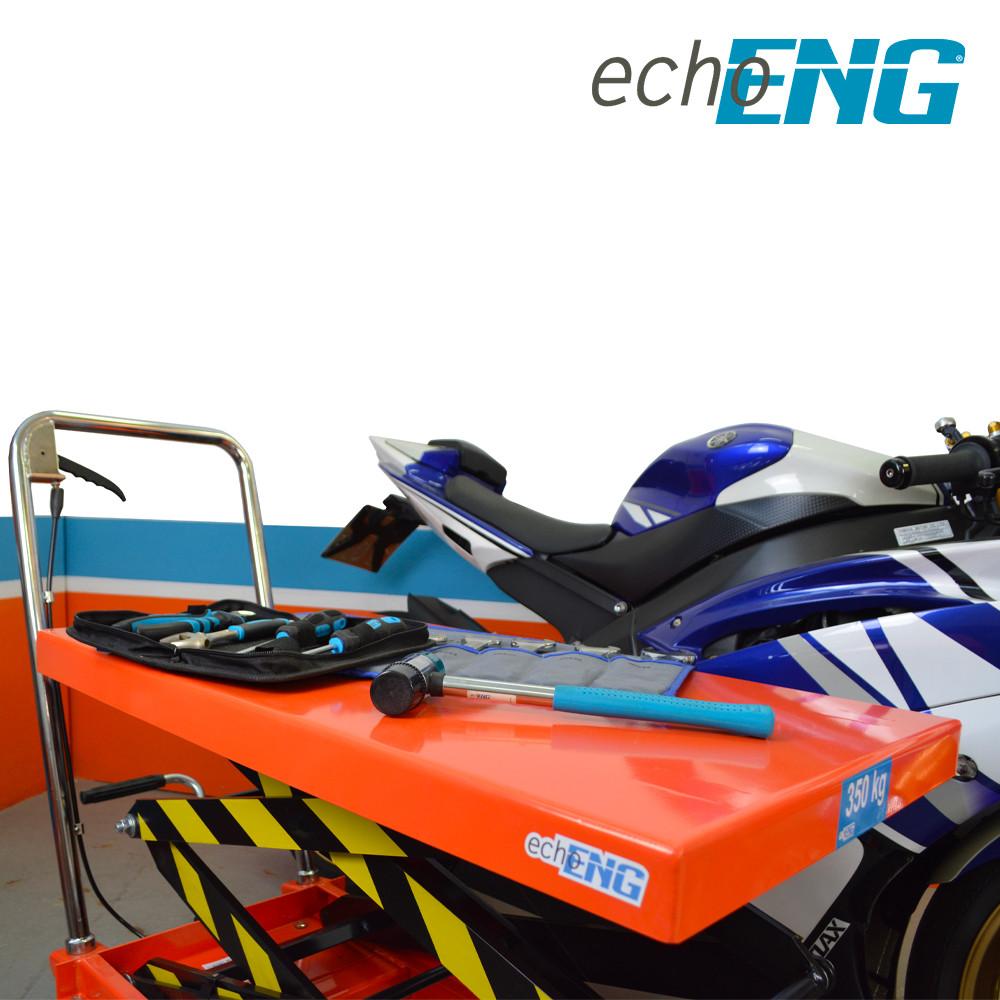 Carrello a doppio pantografo piattaforma sollevatore 350kg con ruote MA SL CP35