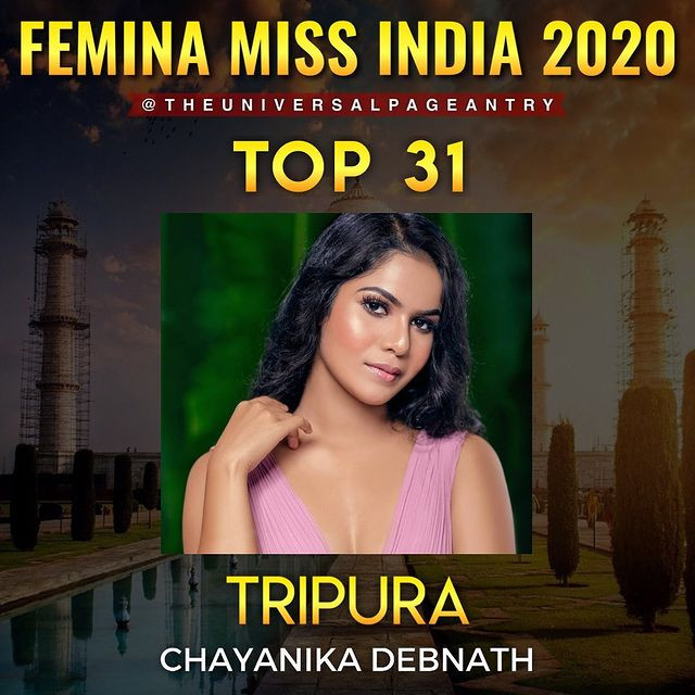 candidatas a femina miss india 2020. final: 10 feb. top 15 pag.3. FBz021