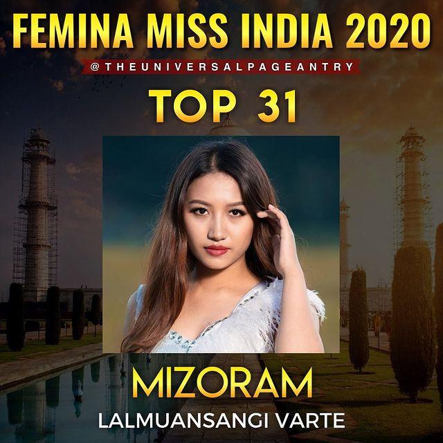 candidatas a femina miss india 2020. final: 10 feb. top 15 pag.3. FBzXQR