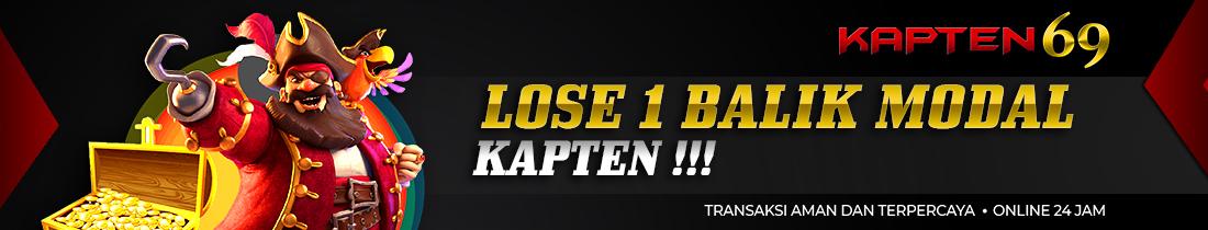 Lose 1 Balik Modal Kapten!