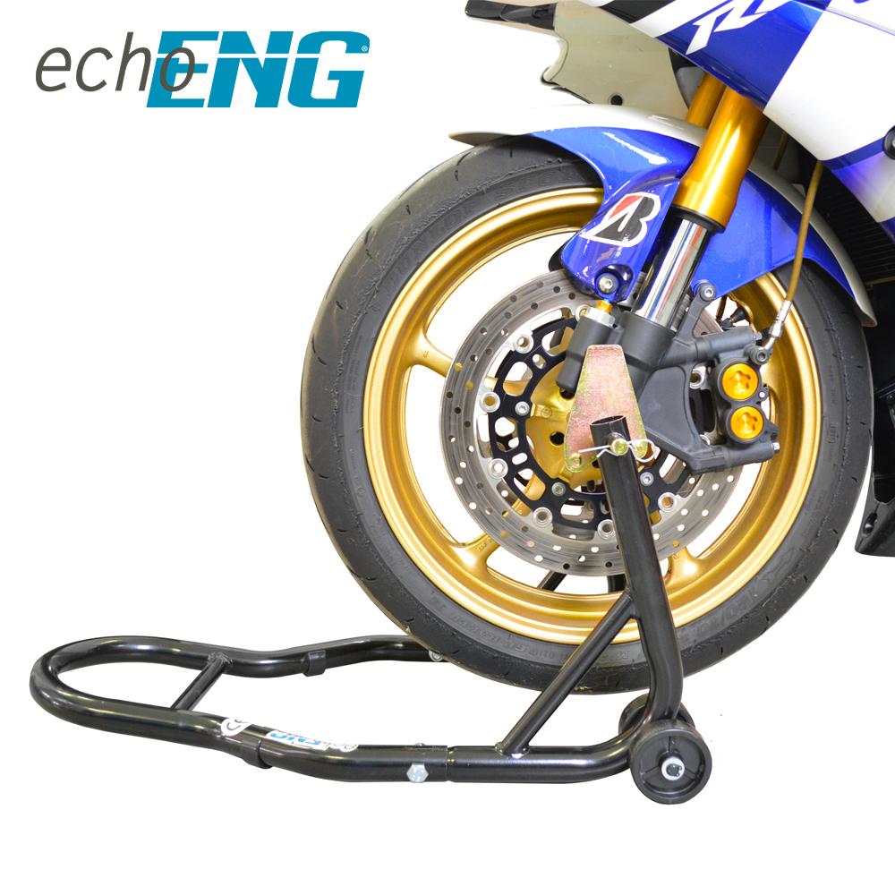 Cavalletto moto alzamoto anteriore moto con pinze radiali - MA CM RA00