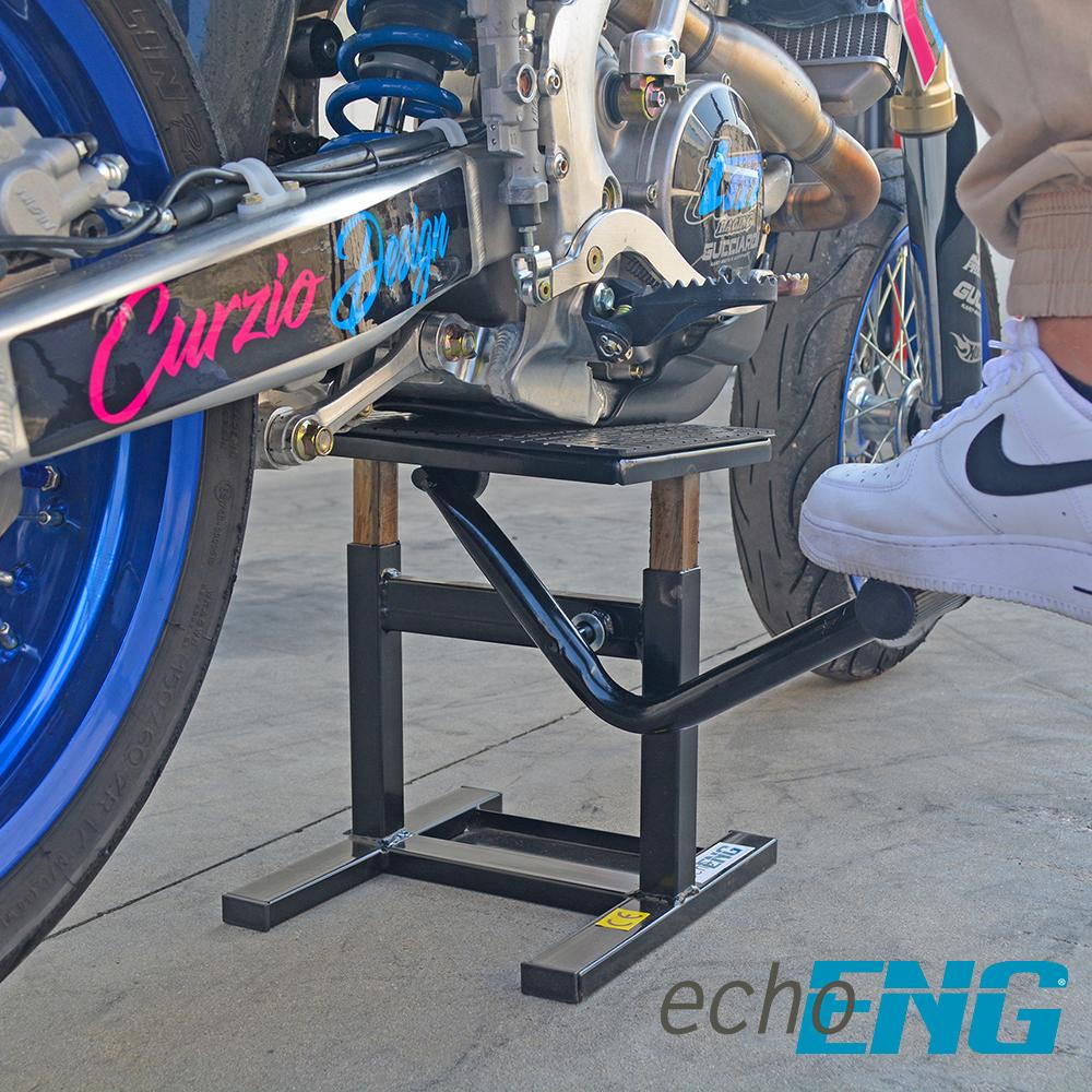 Cavalletto moto alzamoto centrale sollevamento Enduro Cross Motard - MA CM CC00
