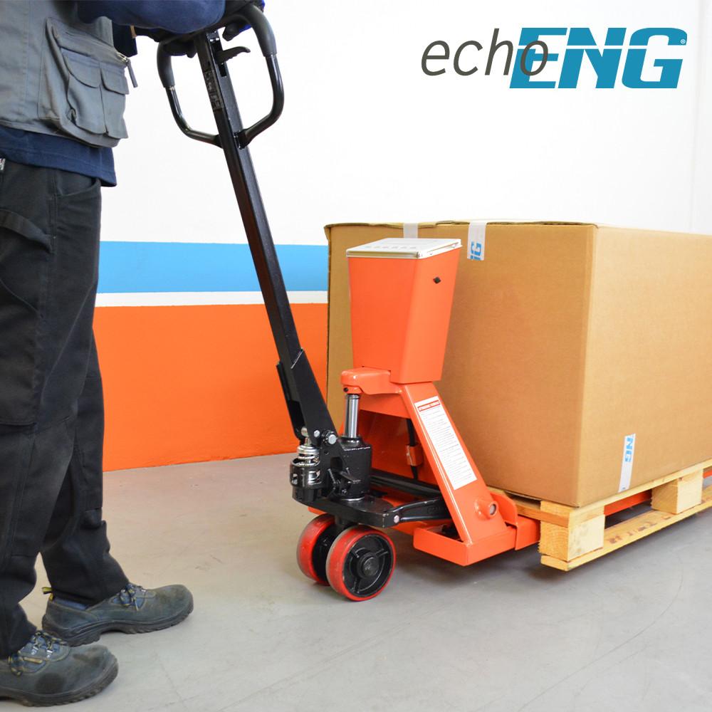 Transpallet pesatore sollevatore bilancia manuale pallet 2000 Kg - MA SL TB21