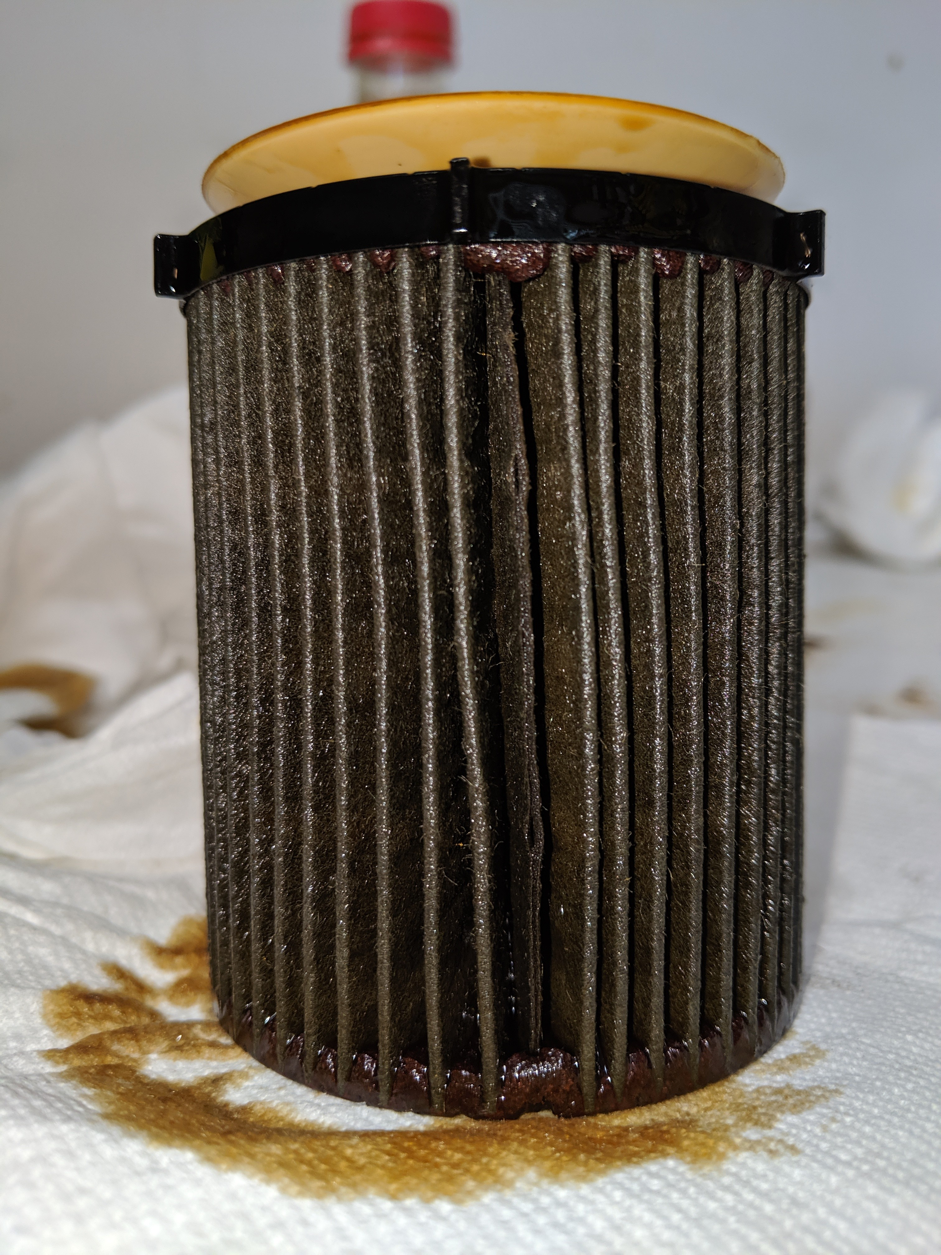 Mann HU711/6 Cartridge Filter [5,487 Miles] - Bob Is The Oil Guy