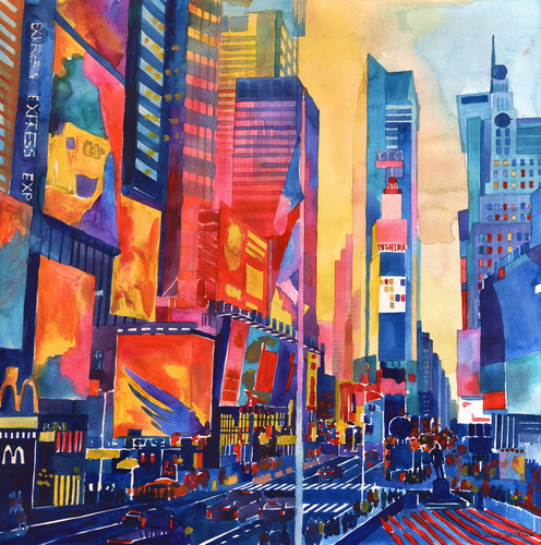Times Square by Maja Wronska.png