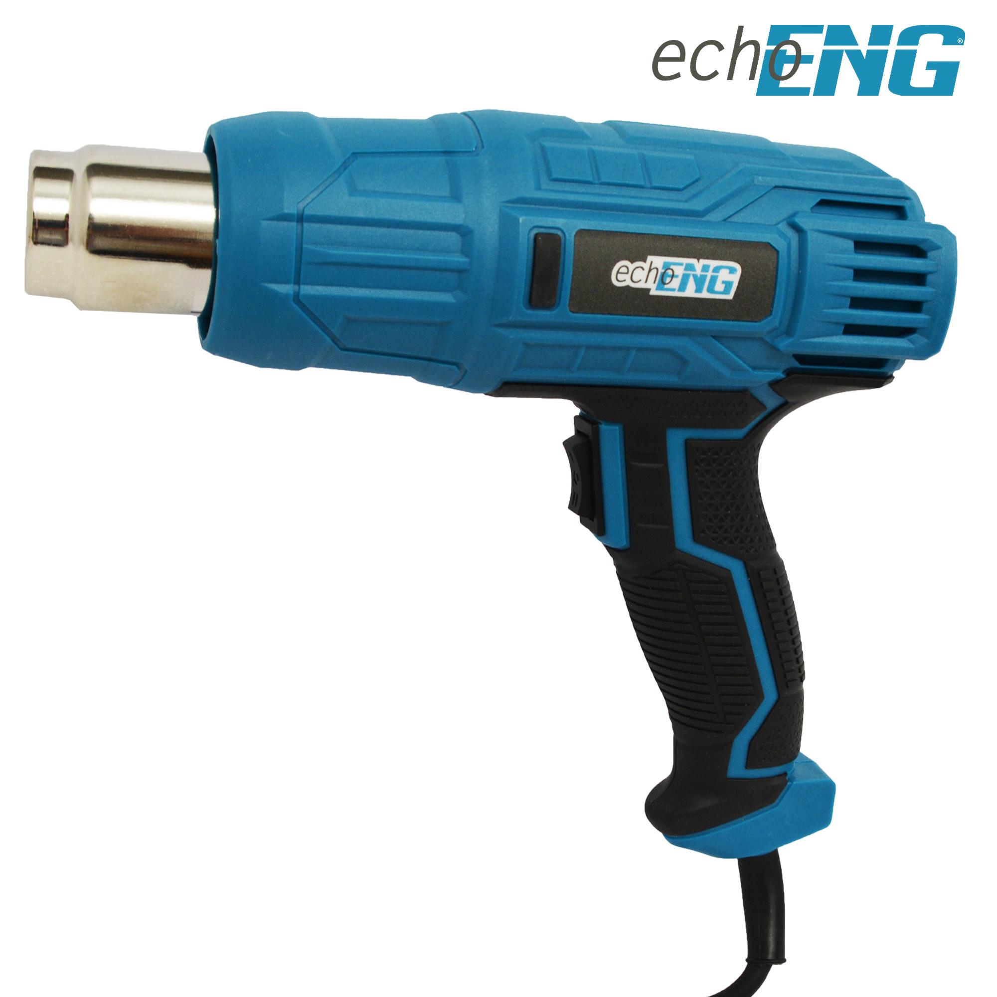 Pistola ad aria calda elettrica termica 230V 600°C - echoENG - UM 90 PA15
