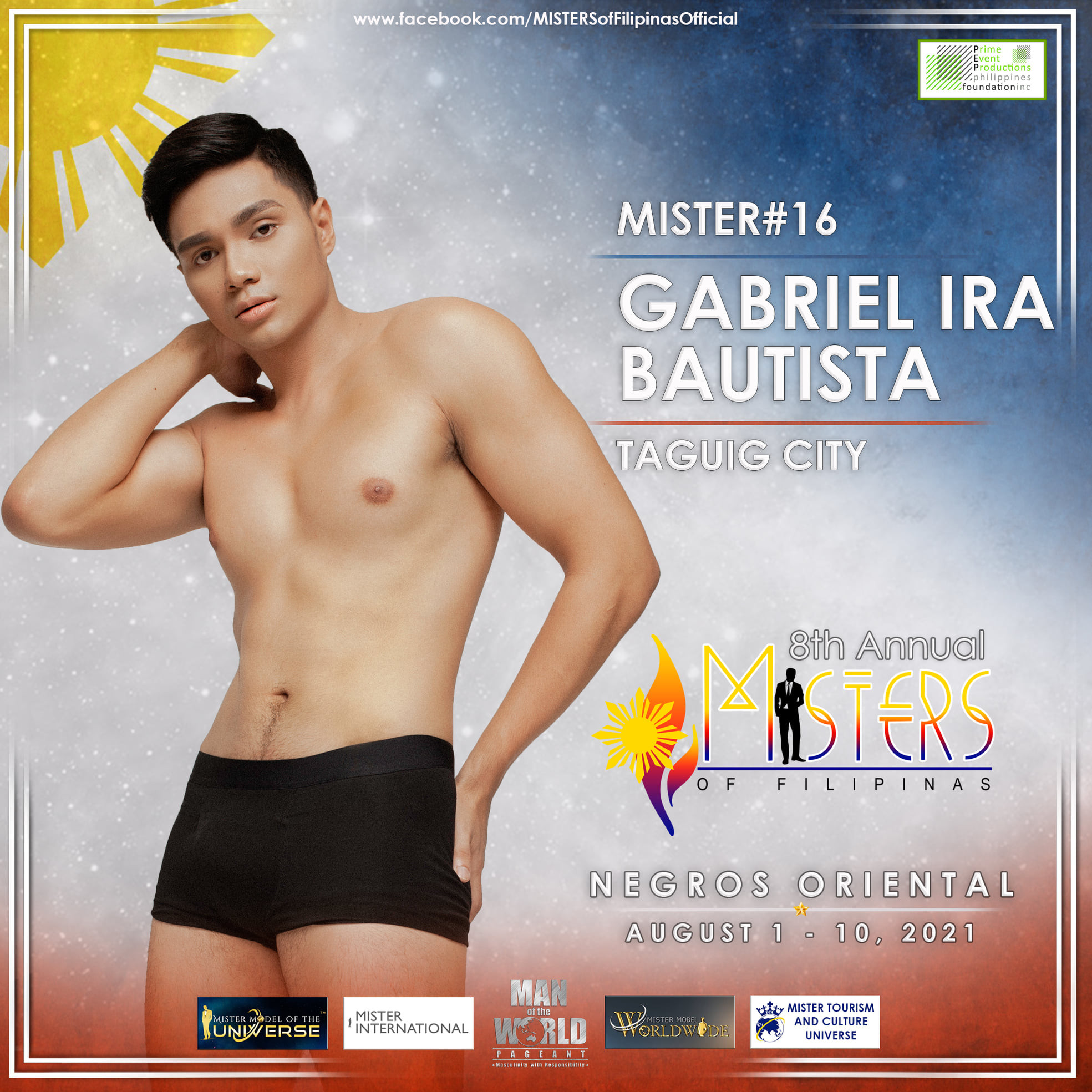 candidatos a misters of filipinas 2021. final: 27 agosto. - Página 2 Own6Kl