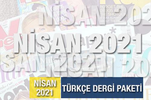 Nisan 2021 Türkçe Dergi Paketi