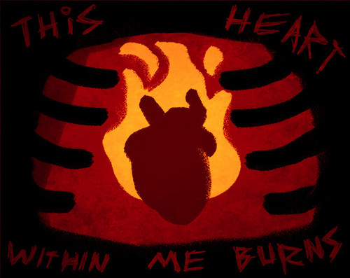 This Heart Within Me Burns logo