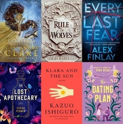 Goodreads: Most Popular Books – March 2021