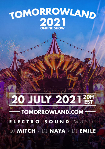 TOMOROWLAND project with hour