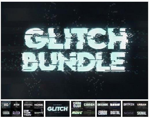 Glitch Effect Bundle