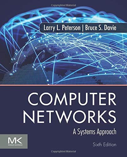 Computer Networks: A Systems Approach, 6th edition