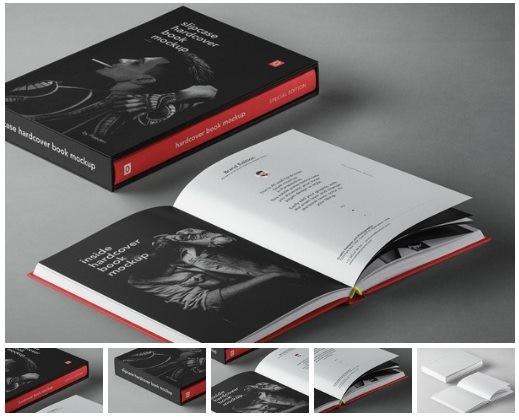 Psd Slipcase Book Mockup Vol10